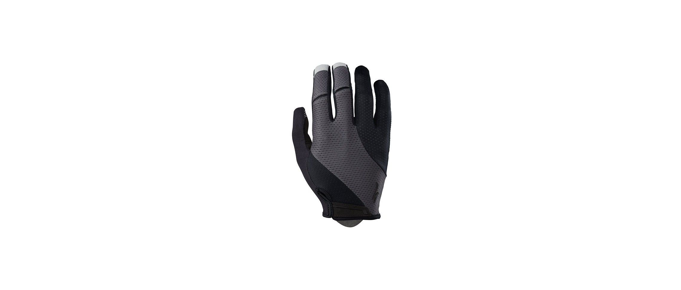 Gel Guantes LF Specialized Body Geometry Negro/Gris Carbono 1 IBKBike.es