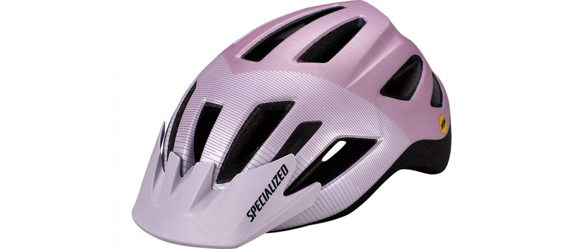 Shuffle Led Mips Casco Ciclismo Specialized Jovenes UV Lilac/Dusty Lilac Accel 1 IBKBike.es