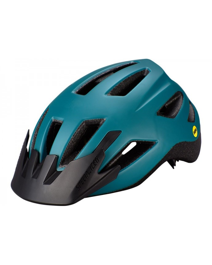 Shuffle Led Mips Casco Ciclismo Specialized Jovenes Dusty Turquoise 1 IBKBike.es