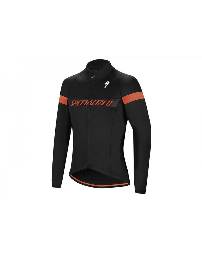 ELEMENT RBX SPORT LOGO JACKET BLK RKTRED XL