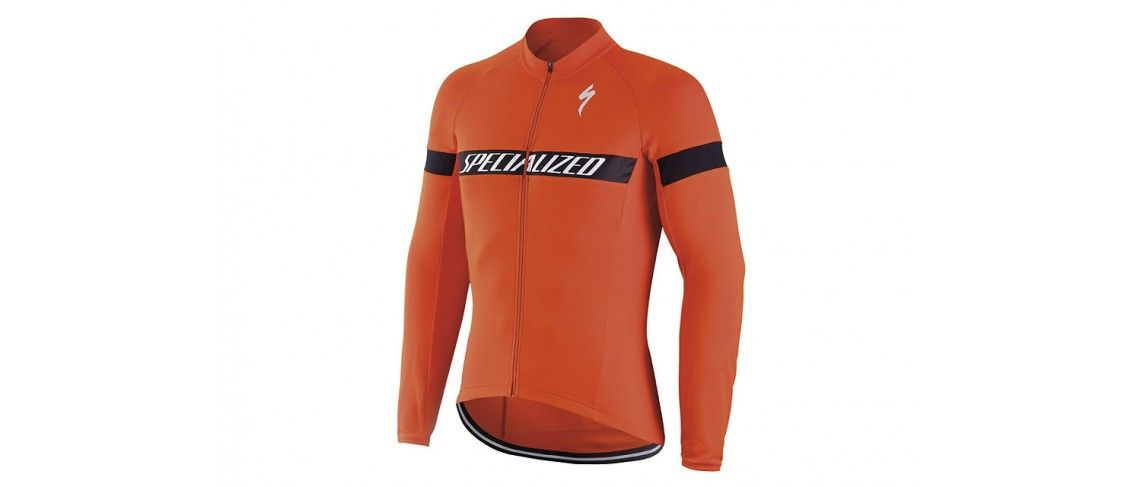 Therminal Rbx Sport Logo Jersey Specialized Rocket Red/White 1 IBKBike.es