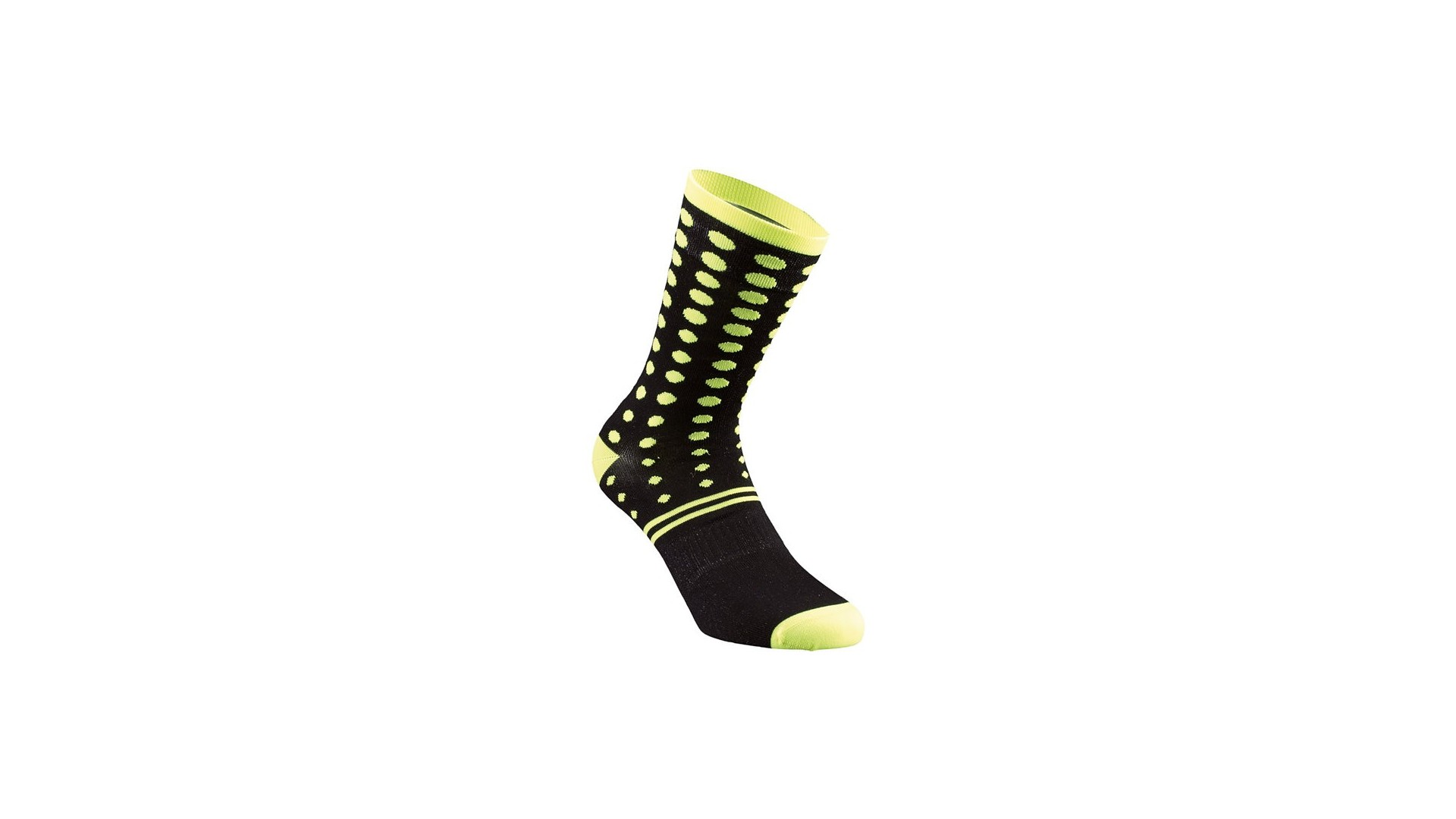 Dots Calcetines Verano Specialized Black/Neon Yellow 2 IBKBike.es