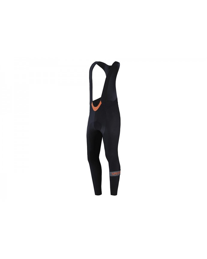 THERMINAL RBX COMP LOGO TM CYC BIB TIGHT BLK ANTH M