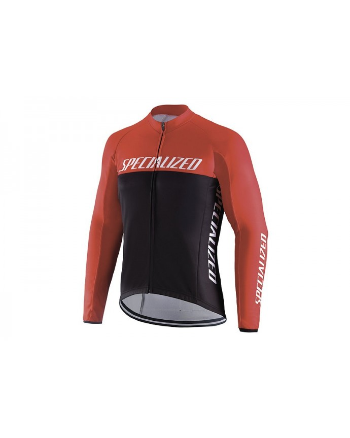 ELEMENT RBX COMP LOGO TEAM JERSEY LS BLK RED M