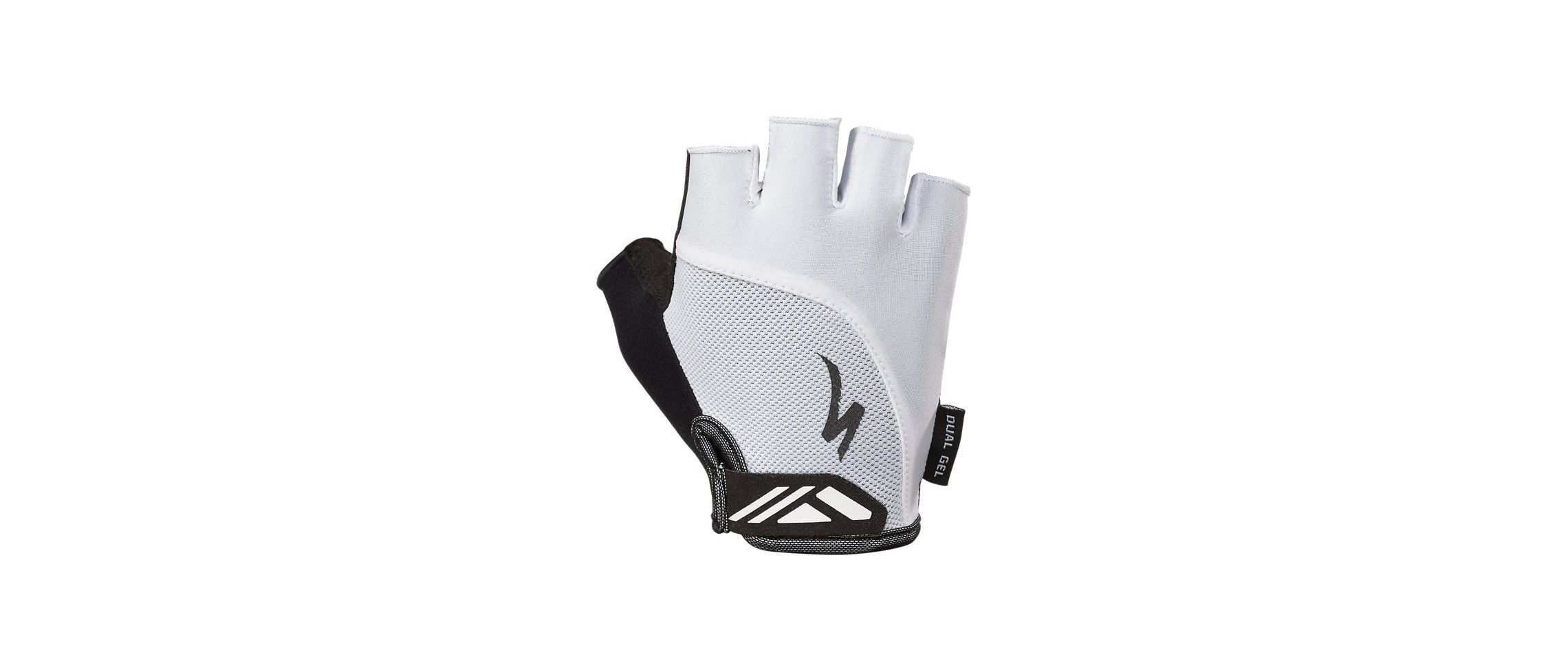BG DUAL GEL GLOVE SF WMN WHT XL