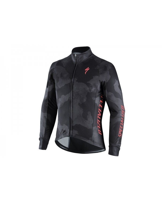 ELEMENT RBX COMP CAMO JACKET GRY RKTRED M