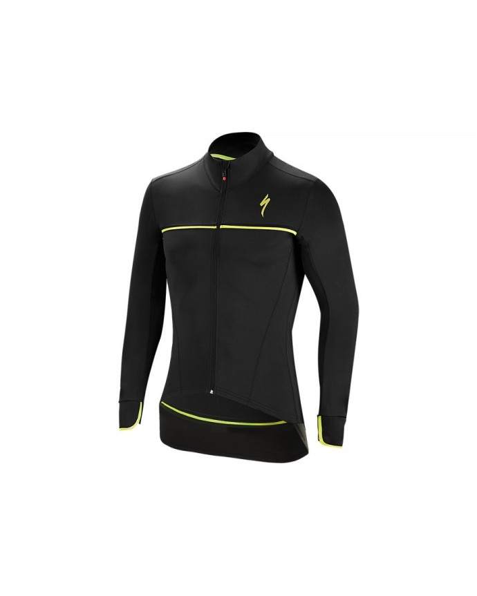 ELEMENT SL ELITE RACE JACKET BLK NEON YEL M