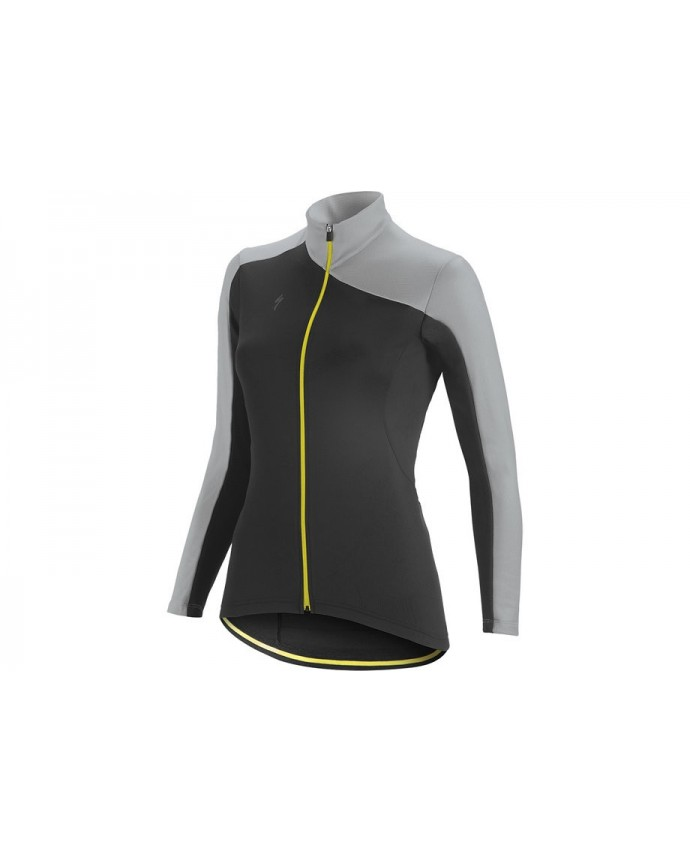 Therminal Rbx Sport Maillot Specialized Mujer Black/Light Grey/Yellow 1 IBKBike.es