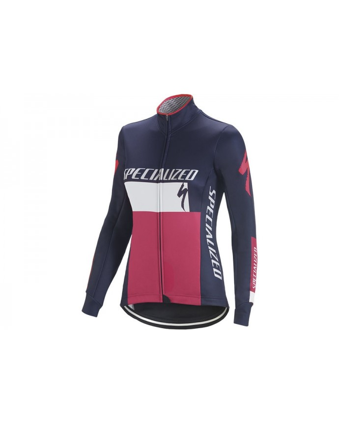 ELEMENT RBX COMP LOGO JACKET WMN BLU WHT MAGENTA XL
