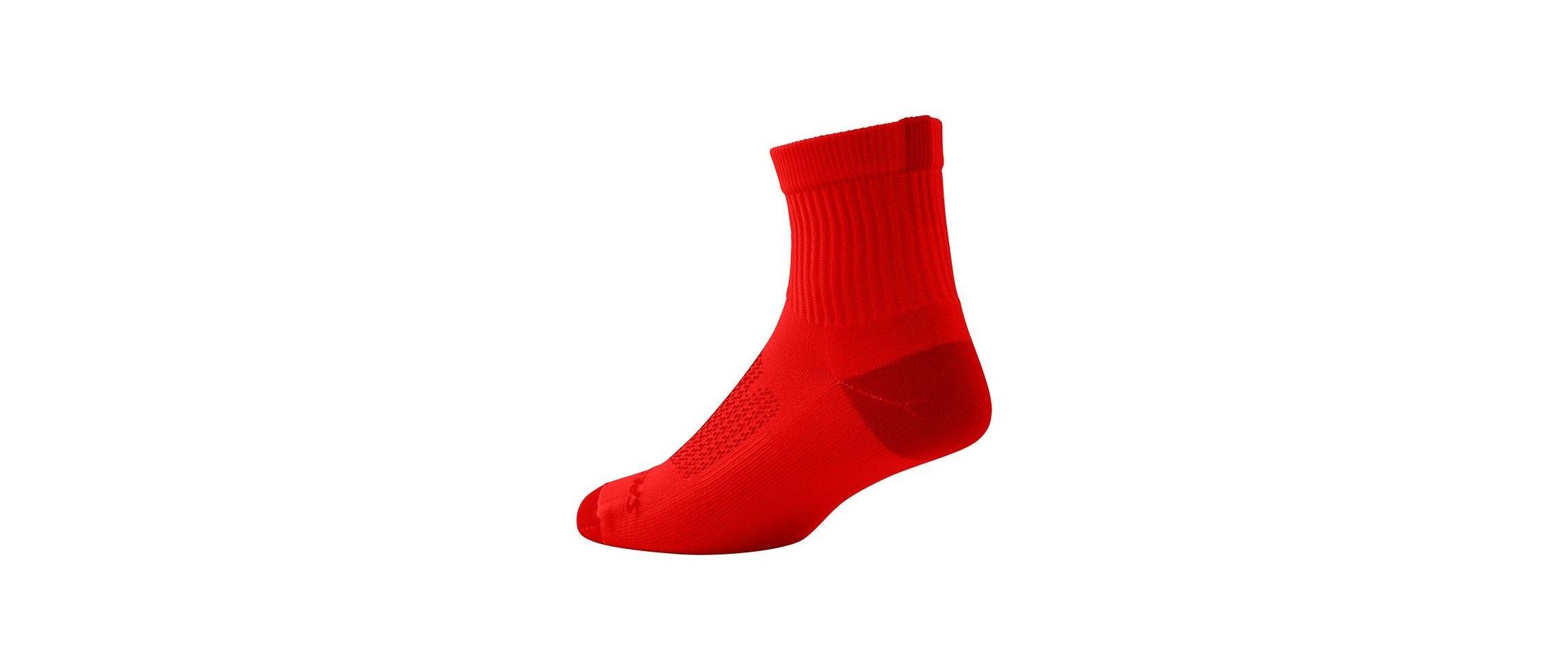 MOUNTAIN MID SOCK RED L