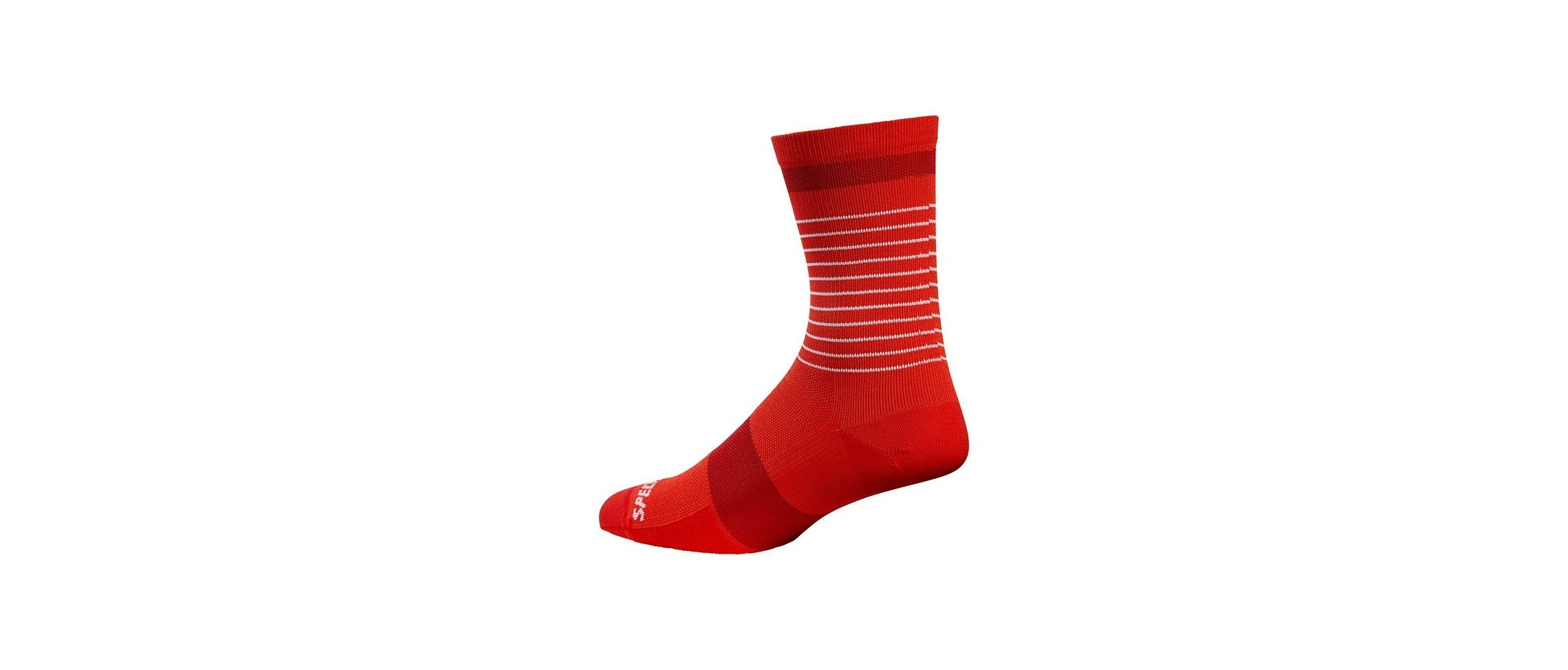 ROAD TALL SOCK RED RED L