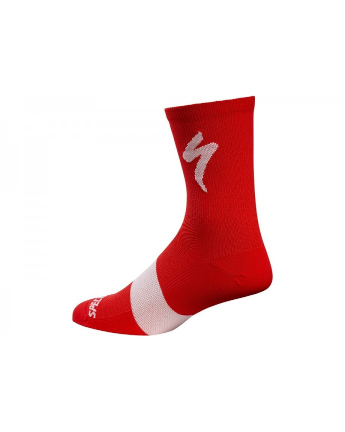 ROAD TALL SOCK RED L