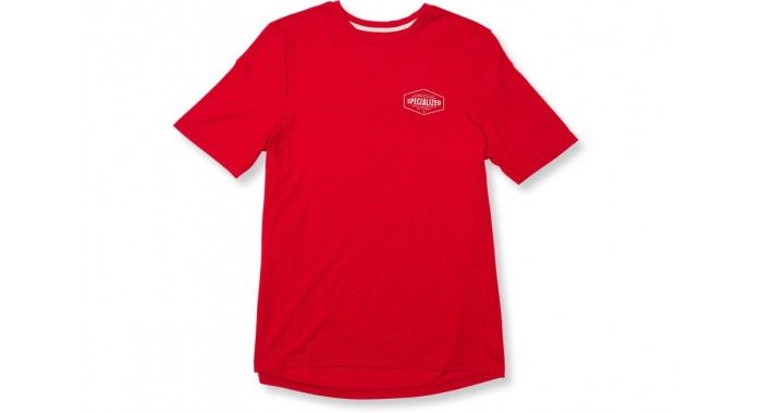 STANDARD TEE STRETCHER RED HTHR WHT XL
