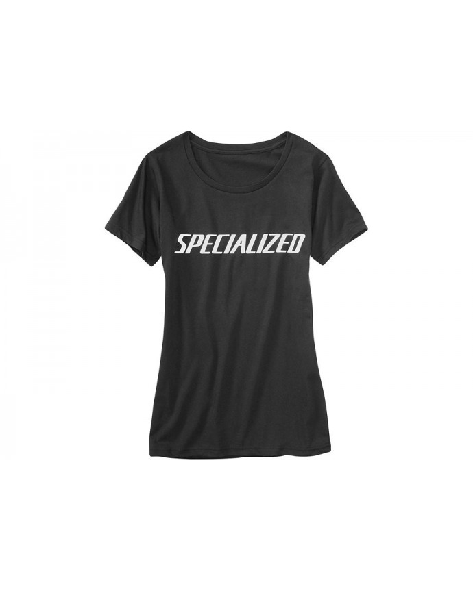 SPECIALIZED PODIUM TEE WMN BLK WHT L