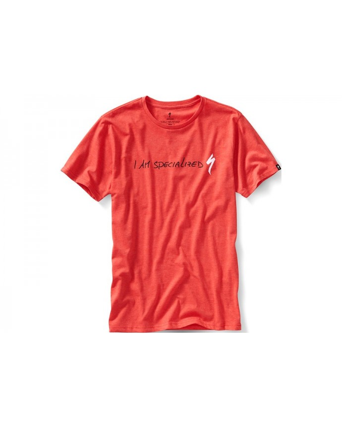 I AM SPECIALIZED PODIUM TEE RED XXL