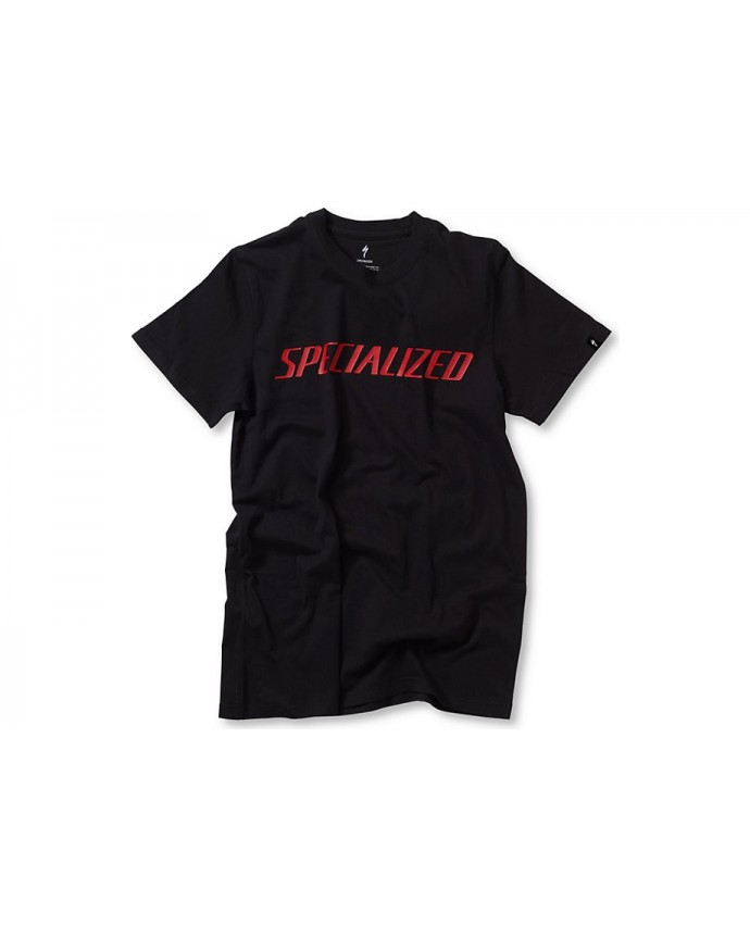 SPECIALIZED PODIUM TEE BLK RED XXL