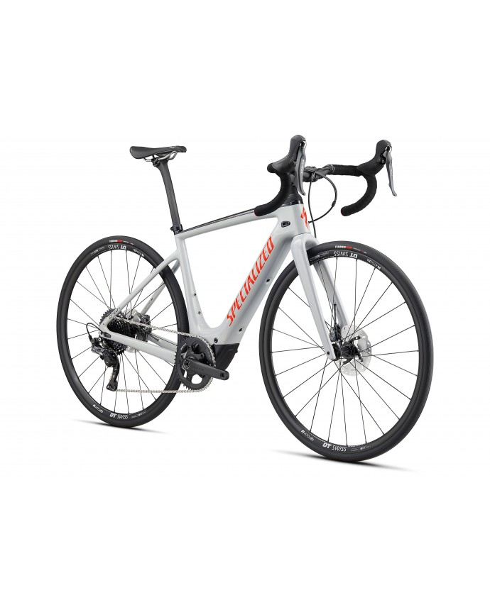 Creo SL Comp Carbon Bicicleta Electrica Carretera Specialized 2020 Gloss Dove Gray / Gold Ghost Pearl / Rocket Red