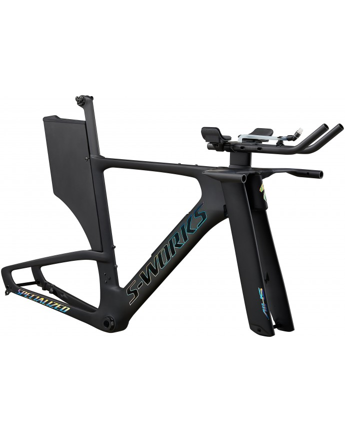 S-Works Shiv Disc Module Cuadro Triatlón Specialized 2020 Satin Carbon/Gloss Holographic Foil