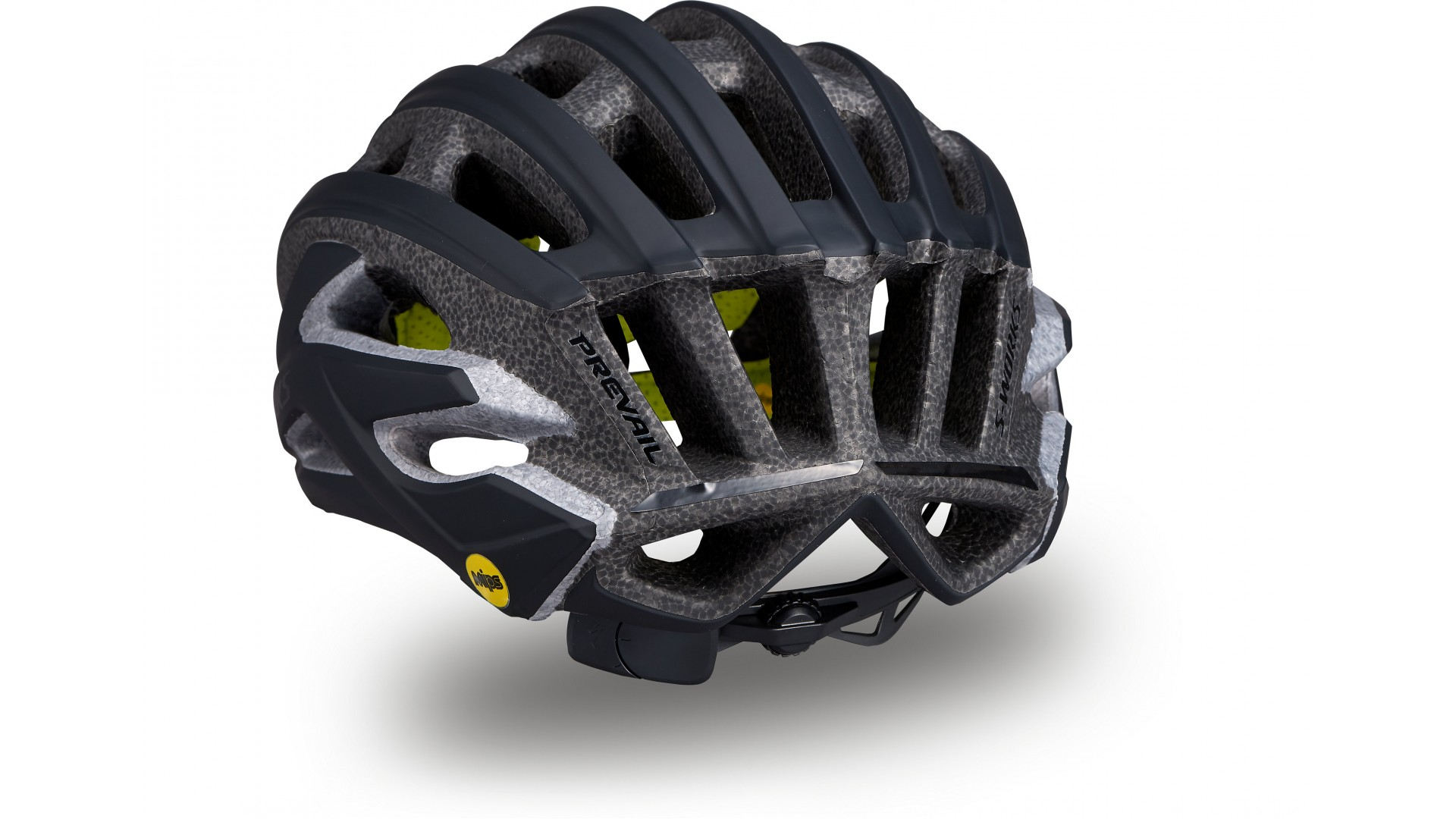 S-Works Prevail II Mips Casco Ciclismo Carretera Specialized Negro Mate 2 IBKBike.es