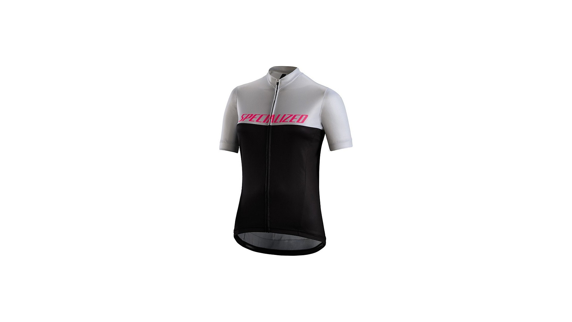 Rbx Comp Logo Team Maillot Specialized Mujer Negro/Gris Claro/Rosa Neon 1 IBKBike.es