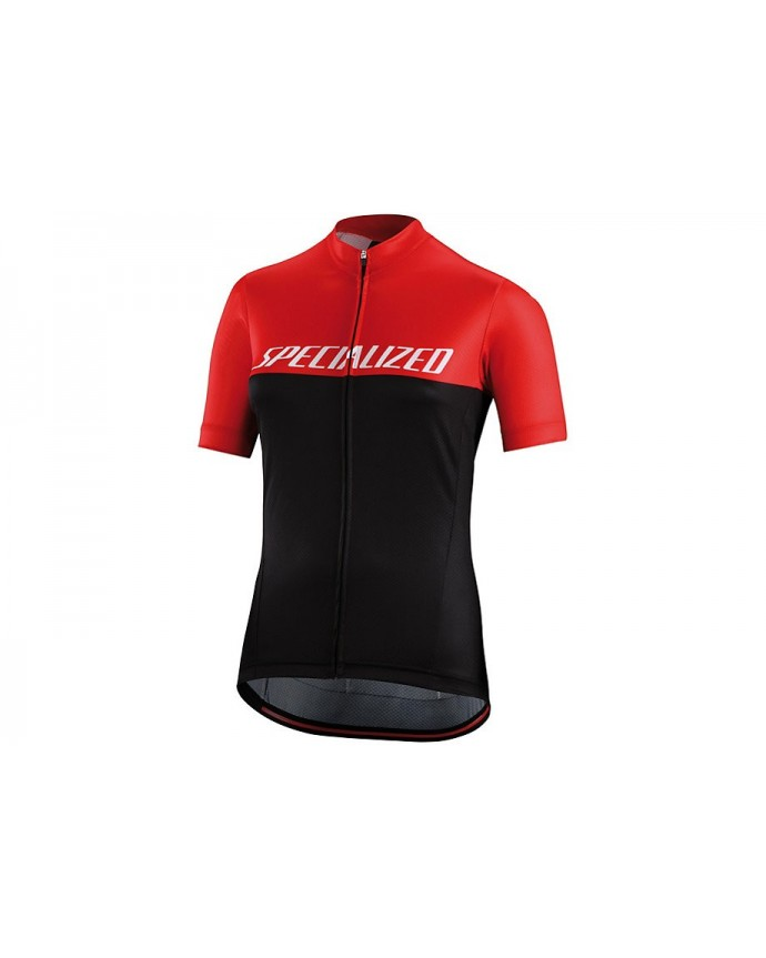 RBX COMP LOGO TEAM JERSEY SS WMN BLK RED M