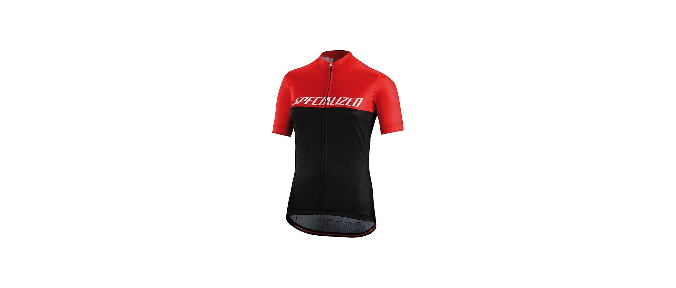 Rbx Comp Logo Team Maillot Mujer Negro/Rojo 1 IBKBike.es