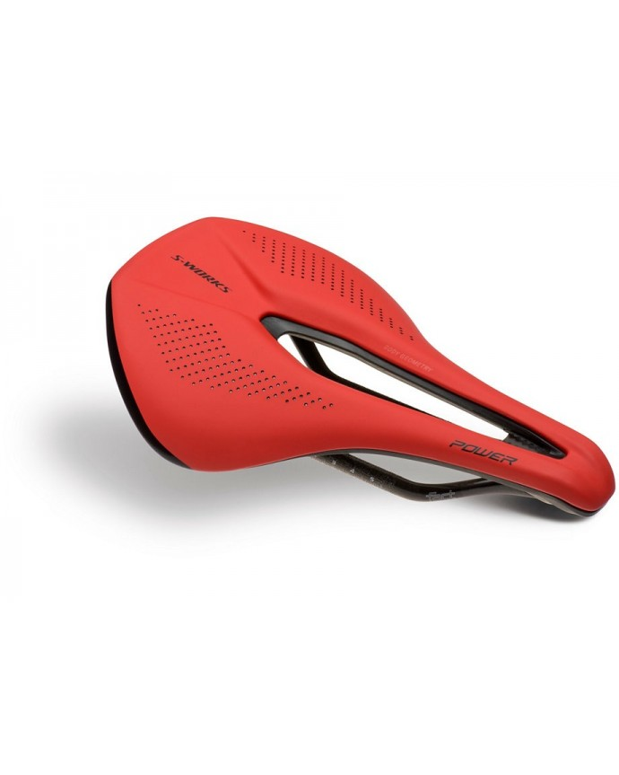 SW POWER CARBON SADDLE RED TEAM 143