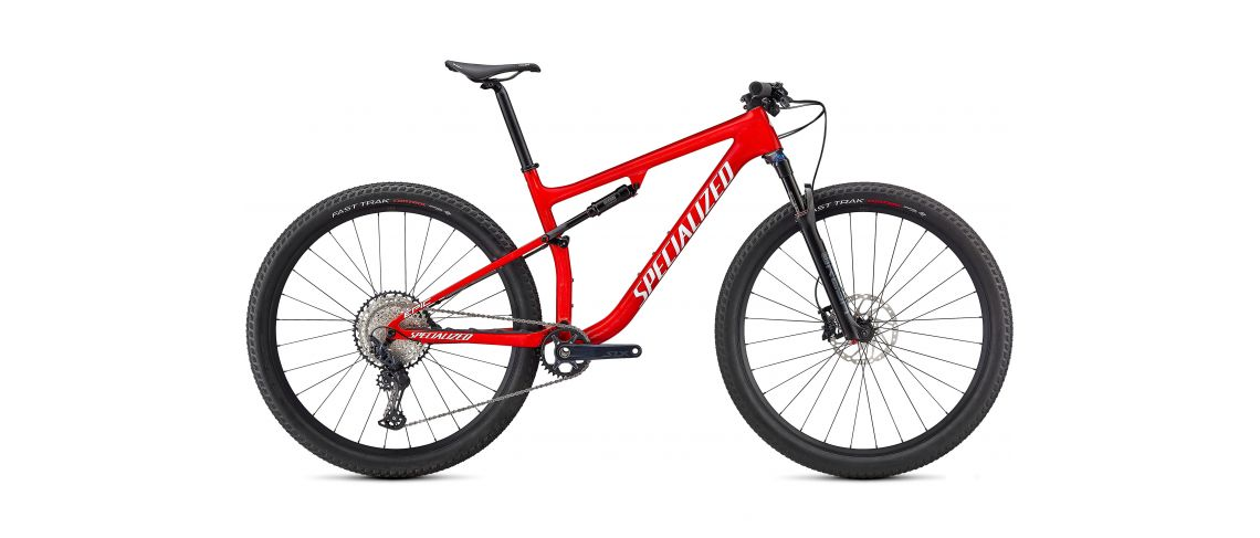 Epic Comp Carbon 29 XC Specialized 2021 Gloss Flo Red w/ Red Ghost Pearl/Metallic White Silver