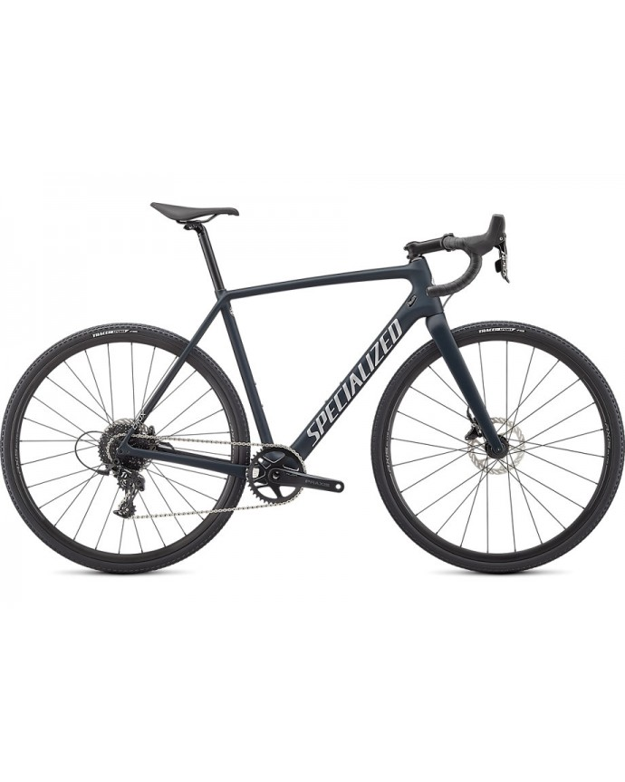 Crux Bicicleta Ciclocross Specialized 2021 Forest Green/Flake Silver