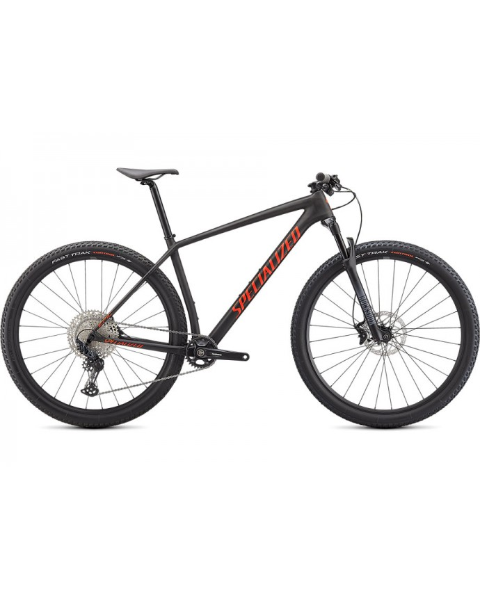 Epic HT MTB Specialized 2021 Satin Carbon/Rocket Red