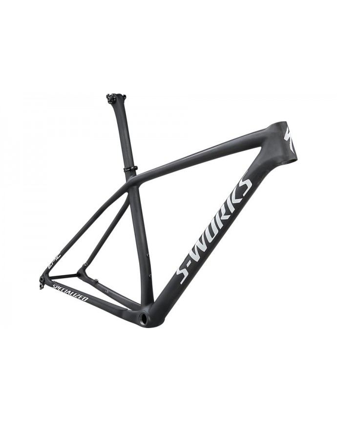 Epic HT S-Works Cuadro MTB Specialized 2021 Satin Gloss Carbon/White Spectraflair