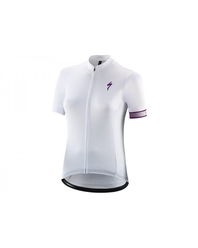 Rbx Sport Maillot Logo SS Specialized Mujer White/Purple