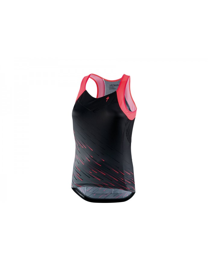 SL Maillot Asas SS Specialized Woman Black/Acid Pink