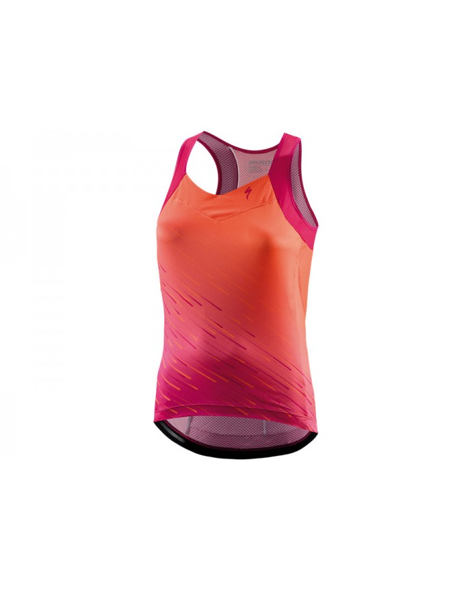 SL Maillot Asas SS Specialized Woman Acid Lava