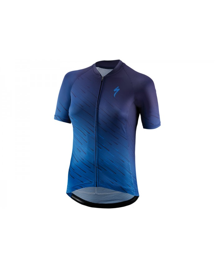 SL Maillot SS Specialized Woman Navy/Pro Blue