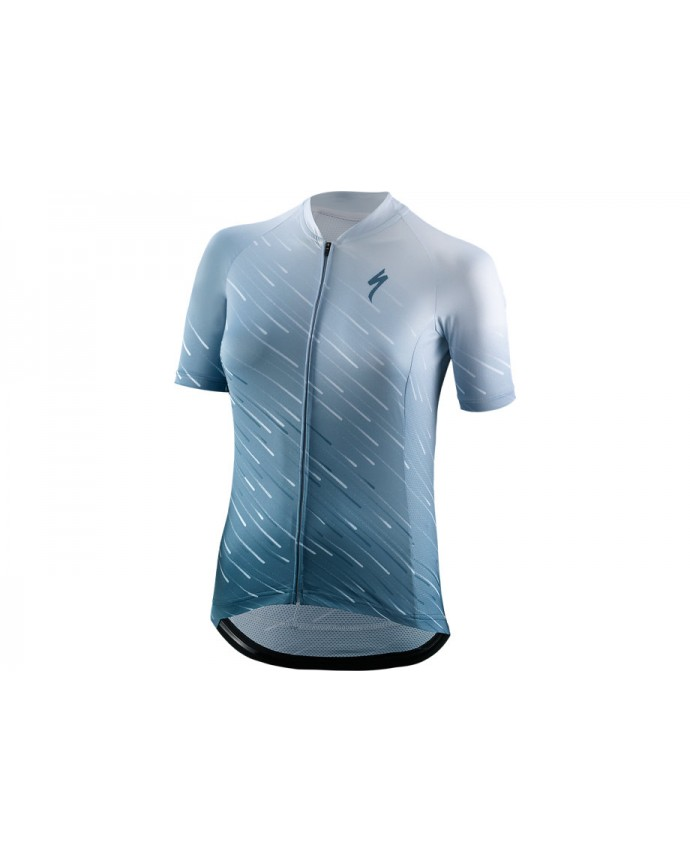 SL Maillot SS Specialized Woman Ice Blue/Storm Grey
