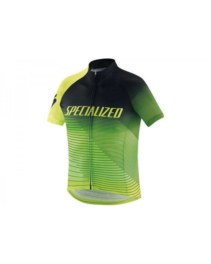 Rbx Comp Logo Team Maillot Specialized Youth Black/Hyper Green