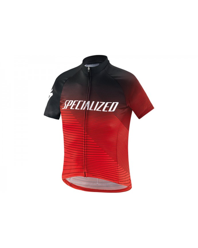 Rbx Comp Logo Team Maillot Specialized Youth Black/Rocket Red/Red