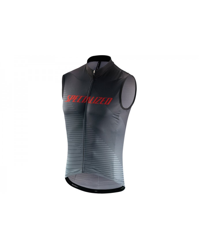 Rbx Comp Logo Team Maillot Slvs Specialized Black/Grey/Red