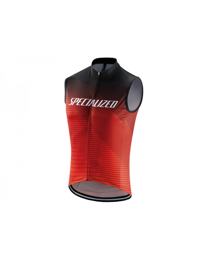 Rbx Comp Logo Team Maillot Slvs Specialized Black/Rocket Red/Red