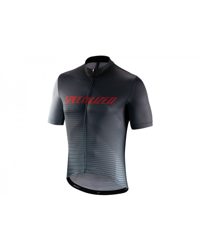 Rbx Comp Logo Team Maillot SS Specialized Black/Grey/Red