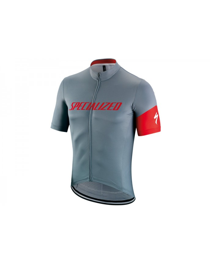 Rbx Comp Logo Maillot SS Pro Anthracite/Red