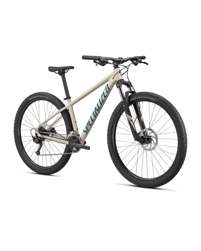 Rockhopper Sport 27.5 Bicicleta Mtb Specialized 2021 Gloss White Mountains / Dusty Turquoise