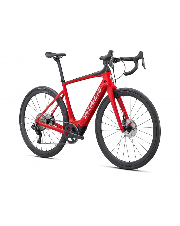 Creo SL Expert Carbon Specialized 2021 Flo Red/ Metallic White Silver/ Carbon