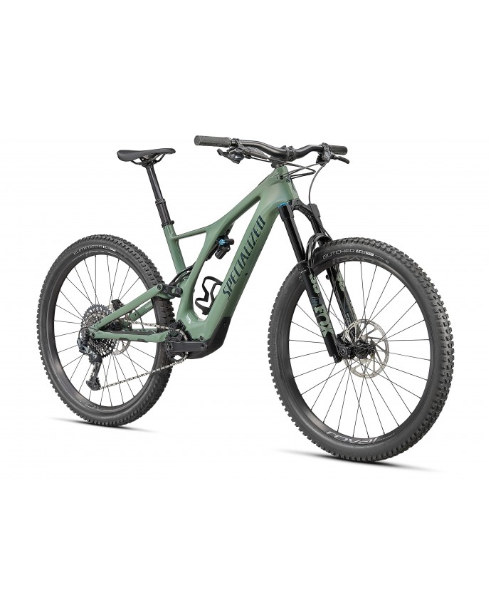 Turbo Levo SL Expert Carbon Specialized 2021 Gloss Sage / Forest Green