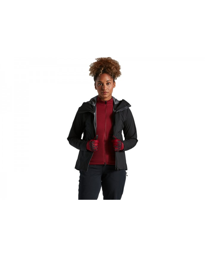 Trail-Series Chaqueta Lluvia Specialized Mujer Negro