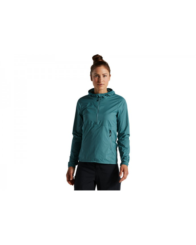 Trail-Series Chaqueta Viento Specialized Mujer Dusty Turquoise