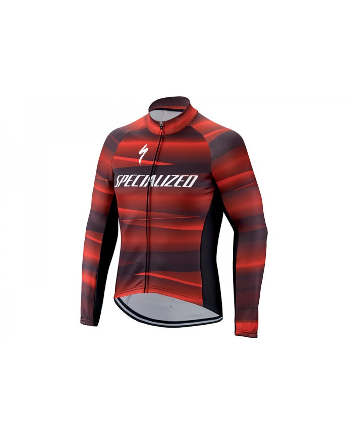 Element SL Team Expert Jersey LS Specialized Black/Red