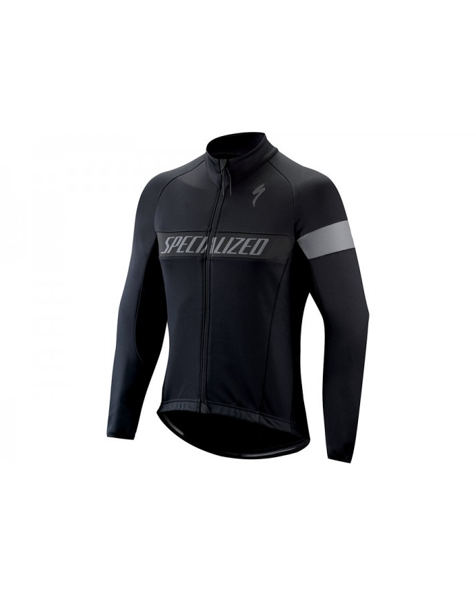 Therminal Rbx Sport Logo Jersey LS Specialized Black/Anthracite