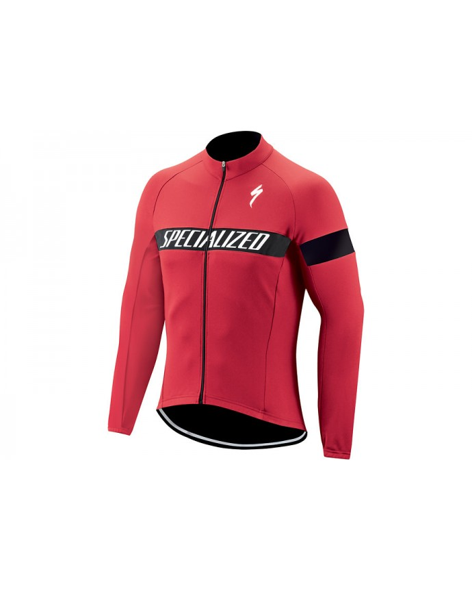 Therminal Rbx Sport Logo Jersey Ls Specialized True Red